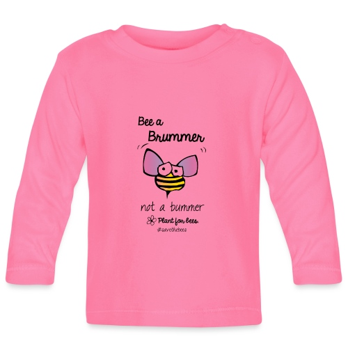 Bees6-2 Save the bees - Baby Long Sleeve T-Shirt