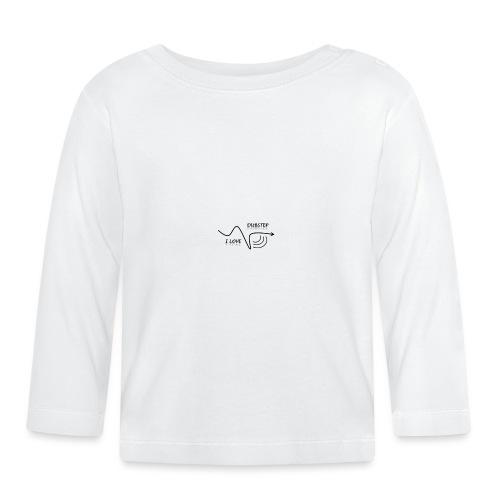 I_LOVE_DUBSTEP - Camiseta manga larga bebé