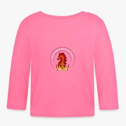 Der Drachenkönig Logo - Baby Langarmshirt