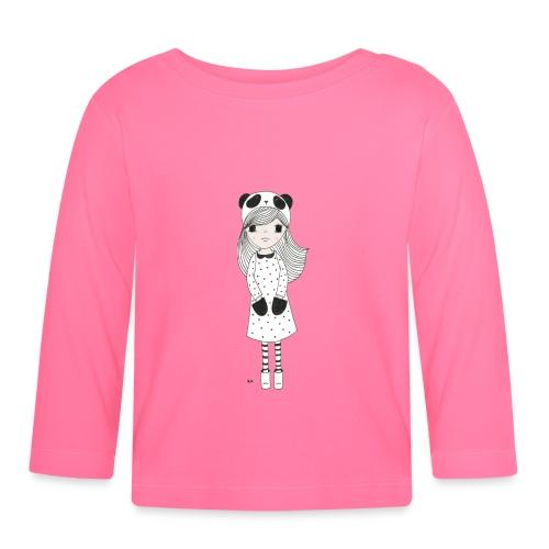 panda meisje - T-shirt