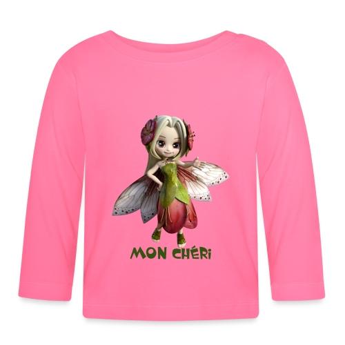 Mon Cheri 2 - Fairy - Baby Langarmshirt