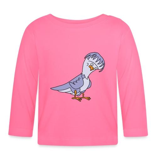 Taube von dodocomics - Baby Langarmshirt