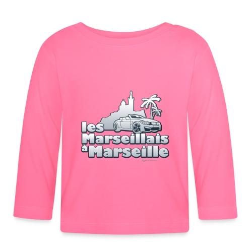 les marseillais à marseille - T-shirt manches longues Bébé