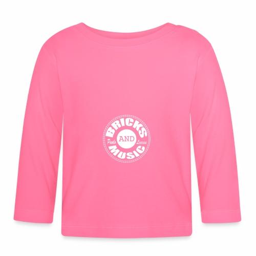 Logo bricks and music WHITE - Maglietta a manica lunga per bambini