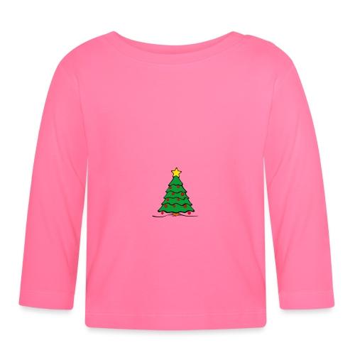 Christmas-Tree - Baby Langarmshirt