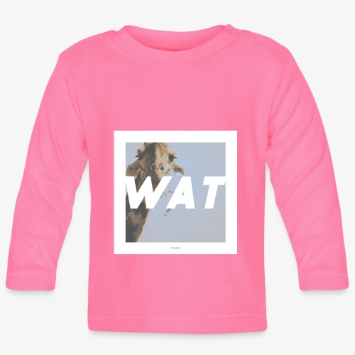 WAT #01 - Baby Langarmshirt