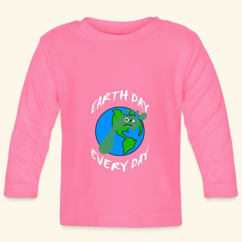 Earth Day Every Day - Baby Langarmshirt