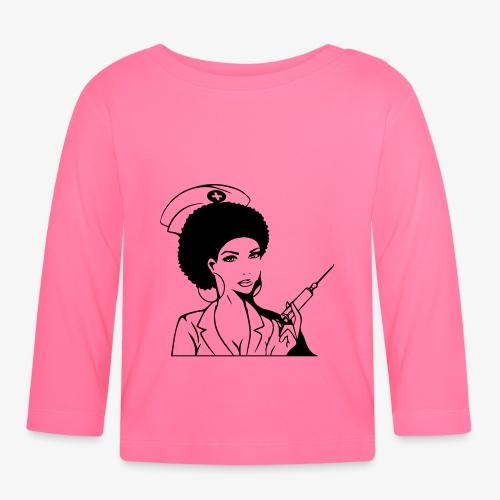 Nurse - Vauvan pitkähihainen paita