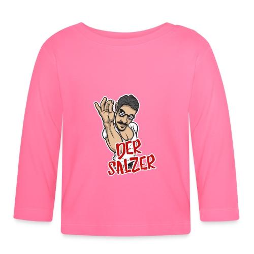 Der Salzer | Grillmeister Tshirt - Baby Langarmshirt