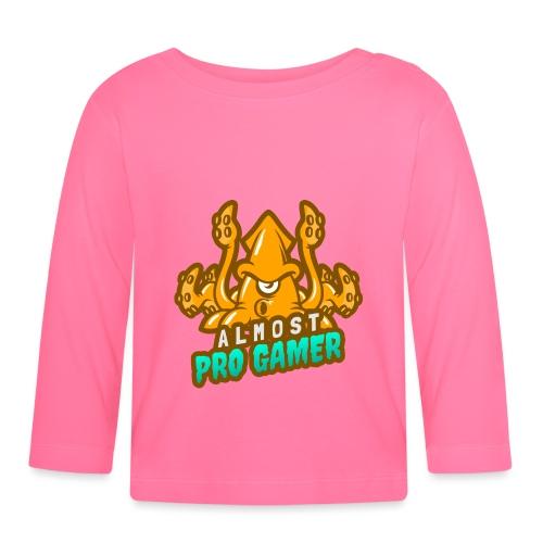 Almost pro gamer YELLOW - Maglietta a manica lunga per bambini