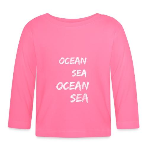 Meer Urlaub Nordsee Wasser Strand Geschenk 13 - Baby Langarmshirt