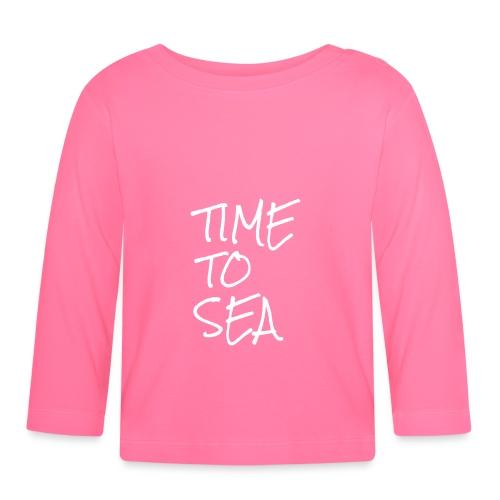 Meer Urlaub Nordsee Wasser Strand Geschenk 15 - Baby Langarmshirt