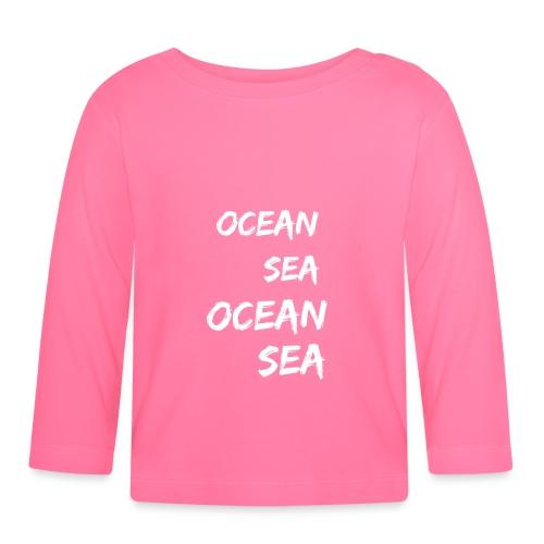 Meer Urlaub Nordsee Wasser Strand Geschenk 12 - Baby Langarmshirt