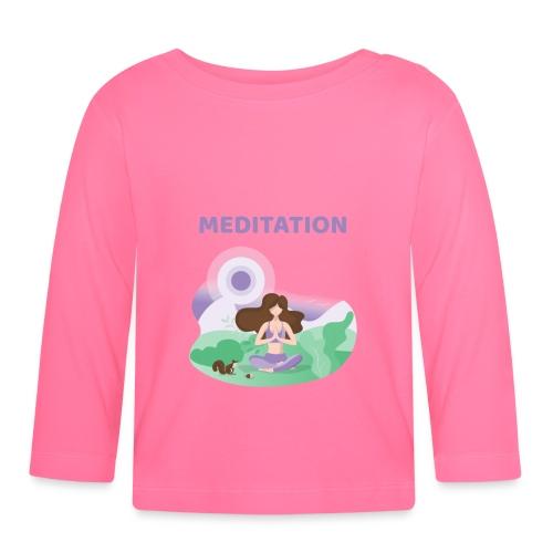 Yoga Meditation - Maglietta a manica lunga per bambini
