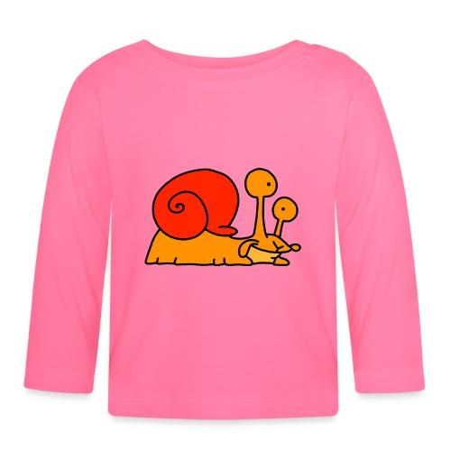 Schnecke Nr 97 von dodocomics - Baby Langarmshirt