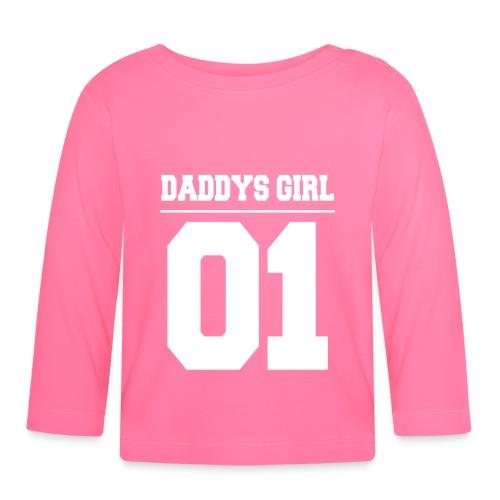 Daddys Girl 01 - Baby Langarmshirt