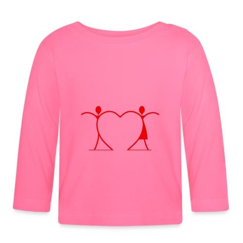 Tenersi per mano, andare lontano.... RED - Maglietta a manica lunga per bambini