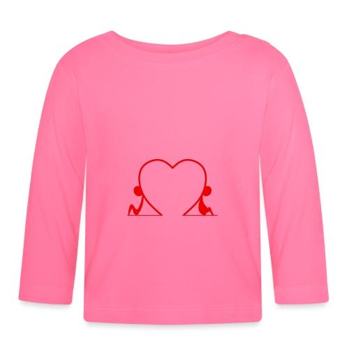 Distanti, ma vicini... RED - Maglietta a manica lunga per bambini