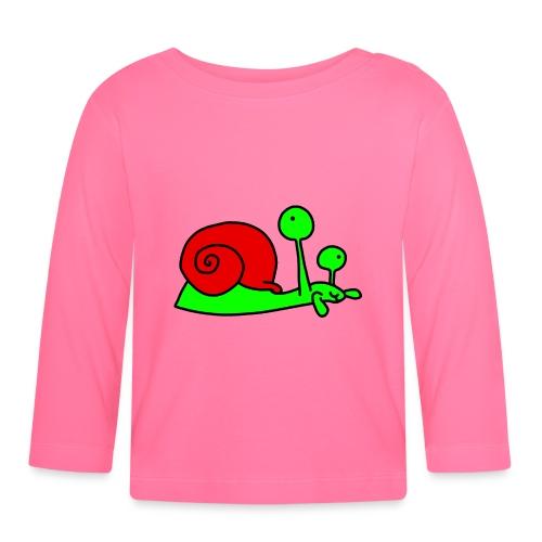 Schnecke Nr 207 von dodocomics - Baby Langarmshirt