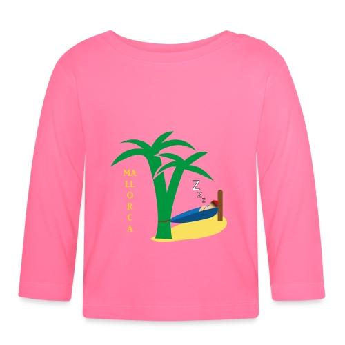 Mallorca - Urlaub unter Palmen - Baby Langarmshirt