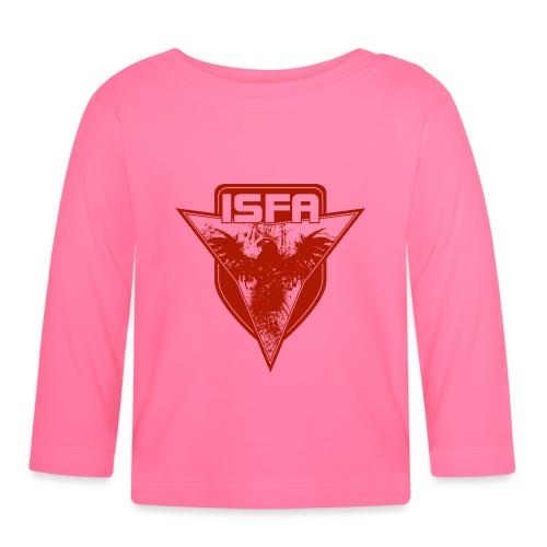 isfa logo 1c rot - Baby Langarmshirt