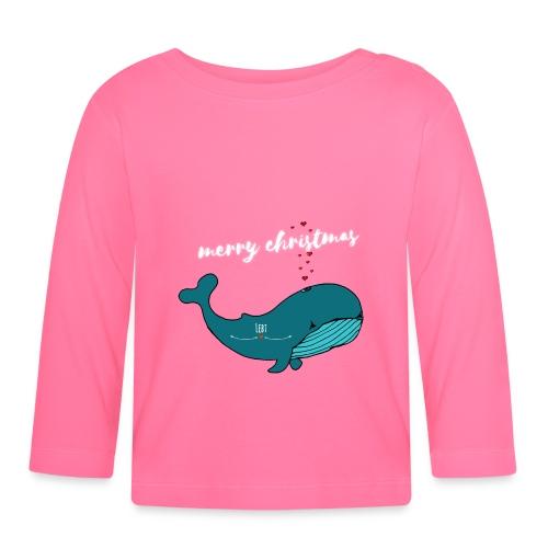 Wal merry Christmas - Baby Langarmshirt