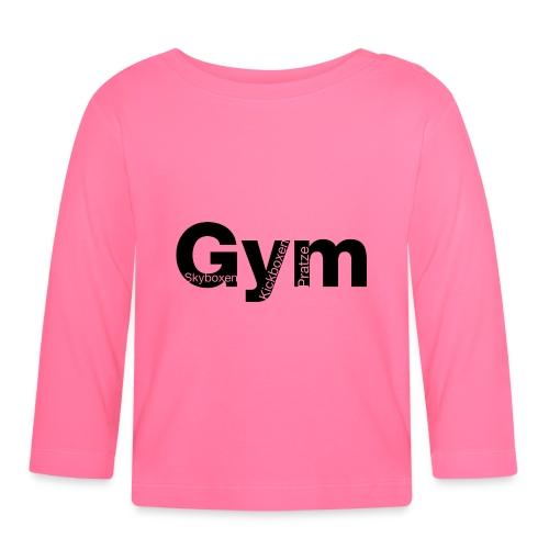 Gym Black - Baby Langarmshirt