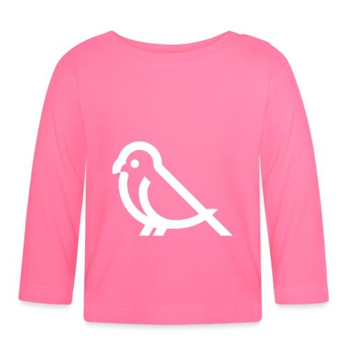 bird weiss - Baby Langarmshirt