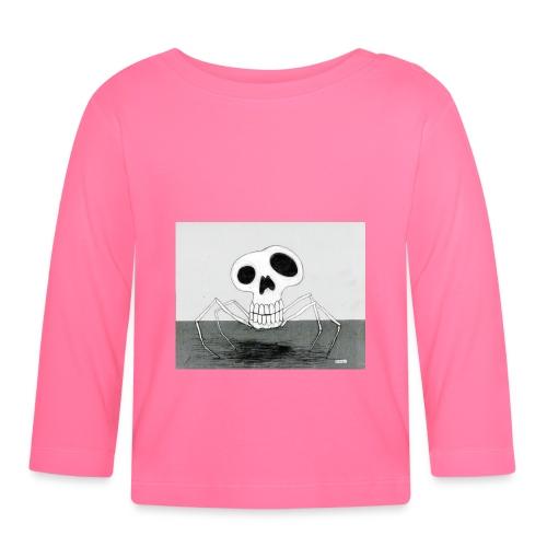 skull spider - Långärmad T-shirt baby