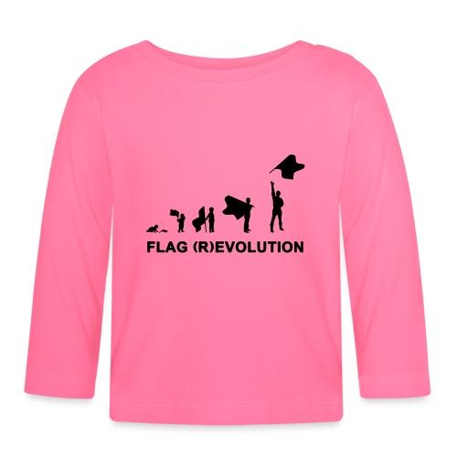 flag (r)evolution - Maglietta a manica lunga per bambini