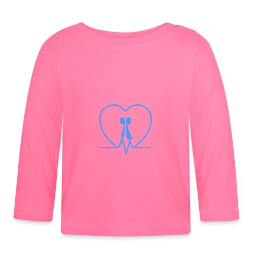 Amarsi un pò ... LIGHT BLUE - Maglietta a manica lunga per bambini