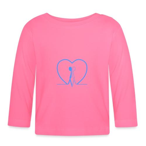 Non aver paura dell'uguaglianza Man man LIGHT BLUE - Maglietta a manica lunga per bambini