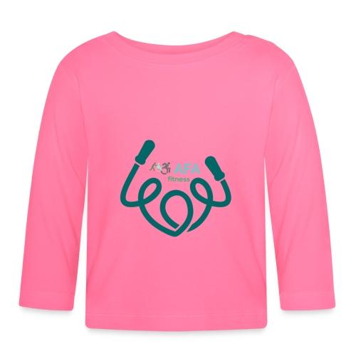 AFAfitness - Maglietta a manica lunga per bambini