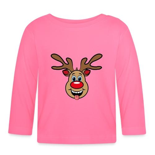 UGLY XMAS - Reindeer Rudi - Baby Langarmshirt