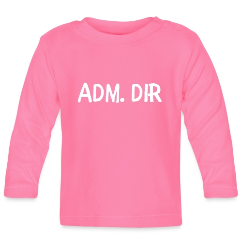 adm. dirr - Langarmet baby-T-skjorte