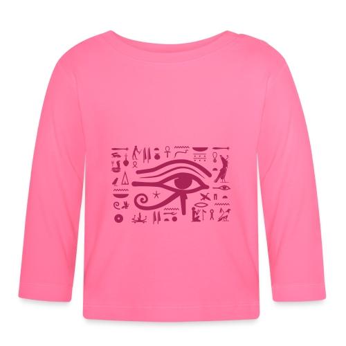 HORUS Hieroglyphen - Baby Langarmshirt