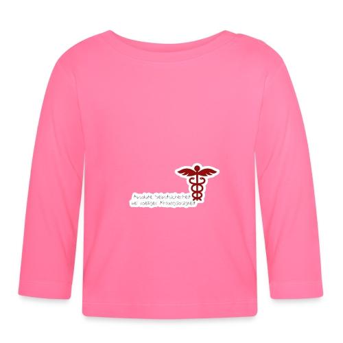 Absolute Selbstsicherheit bei völliger Ahnungslosi - Baby Langarmshirt