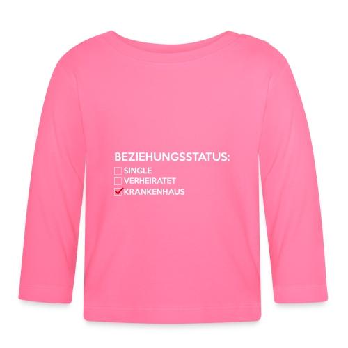 Beziehungsstatus - Krankenhaus - Baby Langarmshirt