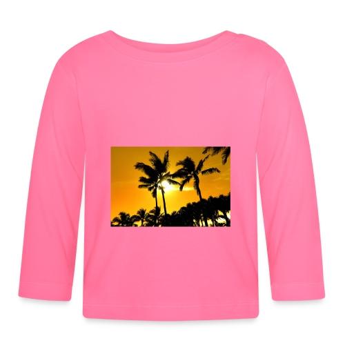 pam trees - Långärmad T-shirt baby