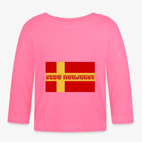 Sidu morjens! flagga - Långärmad T-shirt baby
