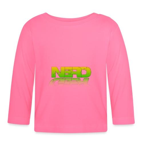 nerd geek - T-shirt manches longues Bébé