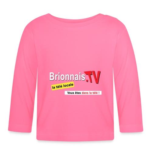BTV logo shirt dos - T-shirt manches longues Bébé