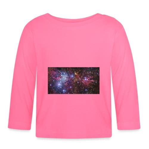 Stjernerummet Mullepose - Langærmet babyshirt
