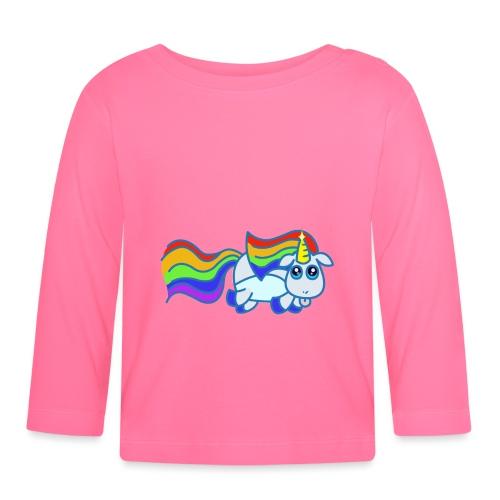 Nyan unicorn - Maglietta a manica lunga per bambini