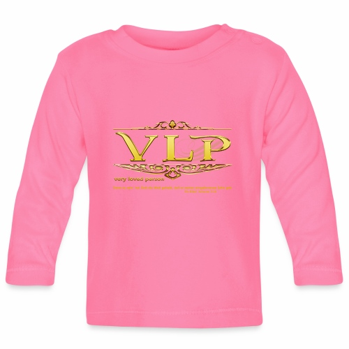 very loved person - Baby Langarmshirt