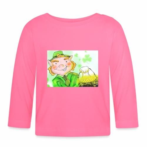 lenny the leprechaun - Baby Long Sleeve T-Shirt