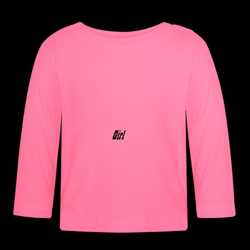 Girl - Maglietta a manica lunga per bambini