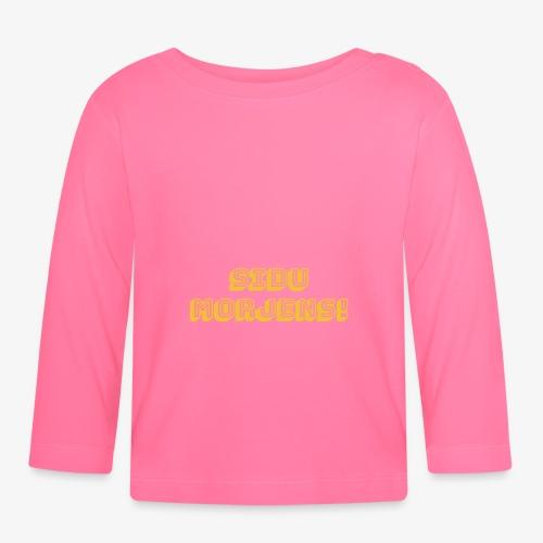 Sidu morjens! - Långärmad T-shirt baby