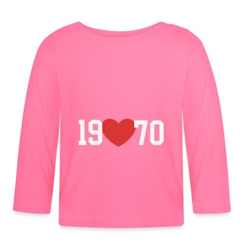 19 heart 70 - Baby Langarmshirt