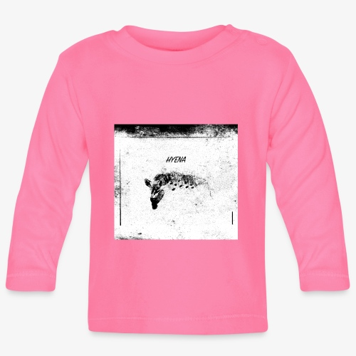 Hyena blackwhitecontest - Långärmad T-shirt baby